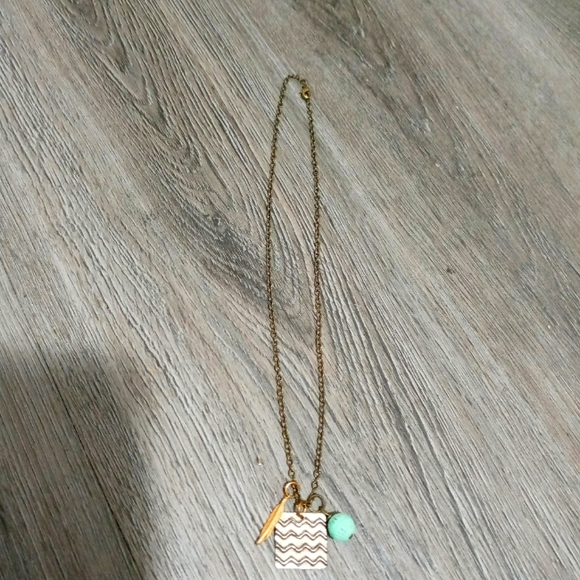 Boho Water & Air Sign Necklace